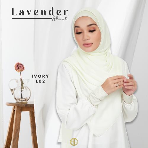 L02 Ivory Shawl